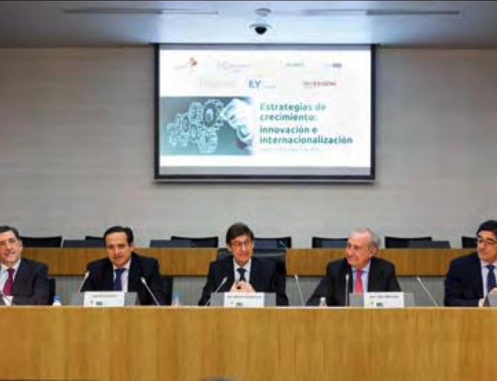 Jornada Estrategias de crecimiento: innovación e internacionalización