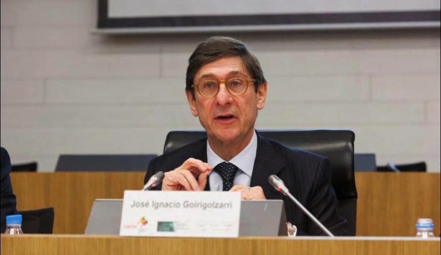 D. José I.Goirigolzarri destacó el enorme esfuerzo que ha realizado la entidad que preside