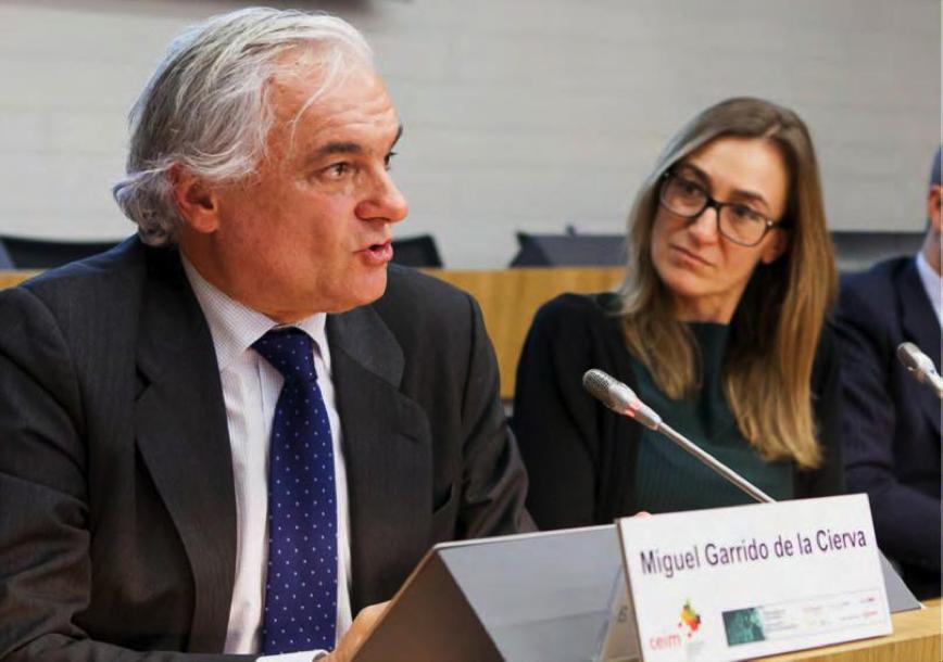 D. Miguel Garrido de la Cierva clausuró la jornada destacando el papel que CEIM juega en el apoyo a las empresas de Madrid.