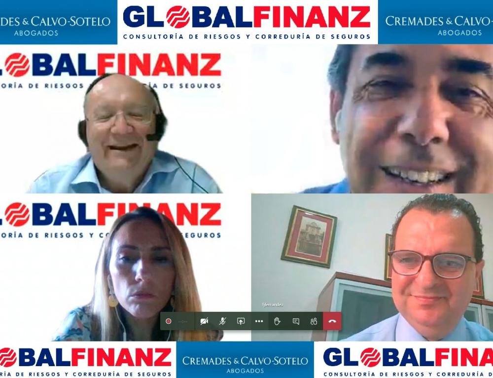 Todas las claves del seguro de Administradores y Directivos en tiempos de pandemia obtienen respuestas en el webinar de Cremades & Calvo-Sotelo Sevilla y GLOBALFINANZ