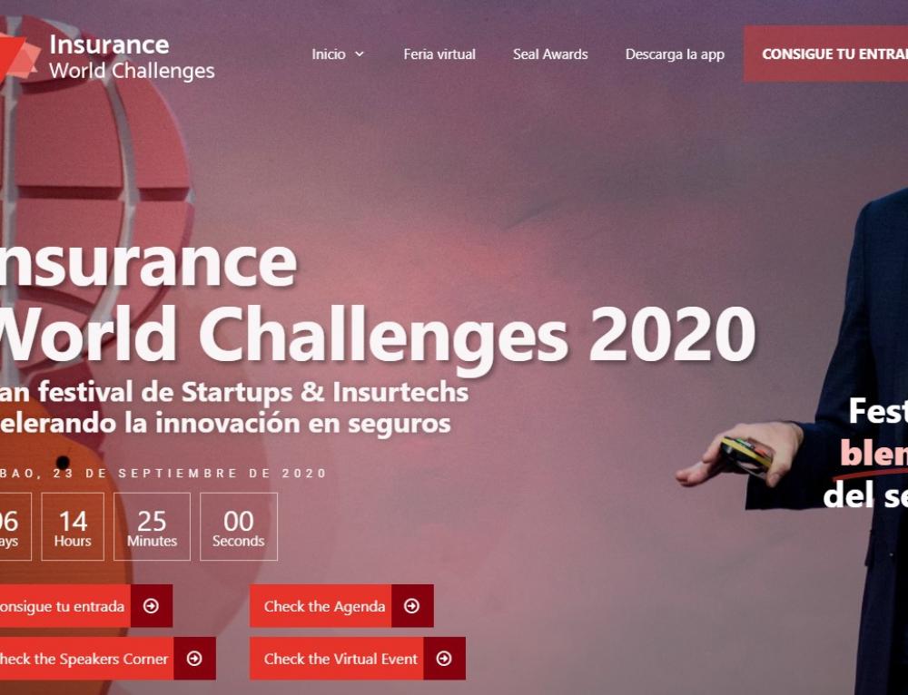 GLOBALFINANZ te invita al Gran Festival de Startups & Insurtechs 'Insurance World Challenges 2020'