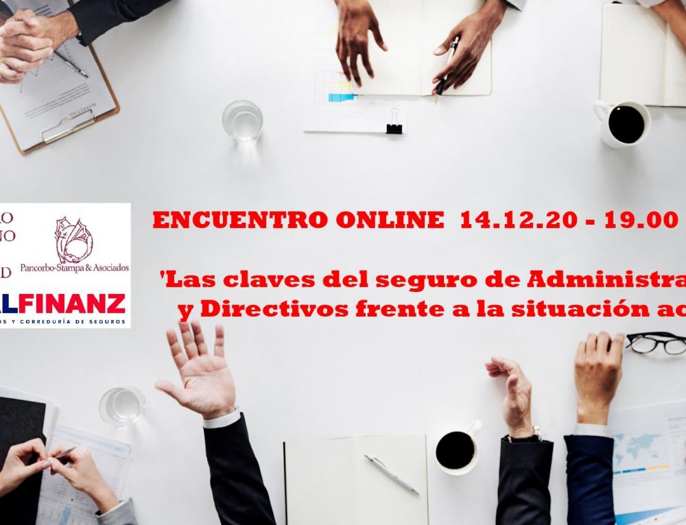 Encuentro sobre 'Las claves del seguro de Administradores y Directivos frente a la situación actual' en el Centro Riojano de Madrid