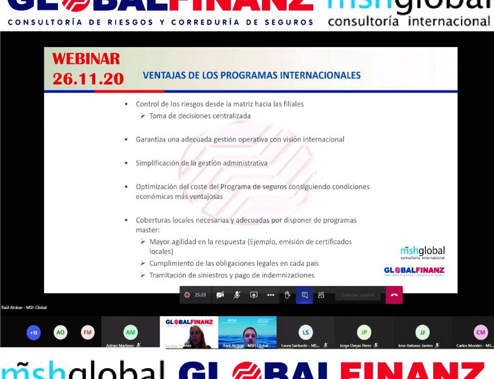 MSH Global y GLOBALFINANZ certifican su alianza estratégica para la promoción de la internacionalización de empresas